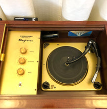 Load image into Gallery viewer, Vintage Magnavox Tube Amplified Record Player
