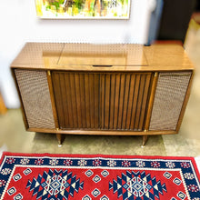 Load image into Gallery viewer, Vintage Tube Amplified Stereo Record Player By Motorola 1959