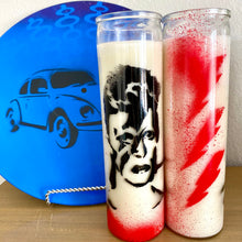 Load image into Gallery viewer, Vintage Inspired Rock Artist Prayer Candles