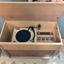 Load image into Gallery viewer, Vintage 1958 Tube Amplified Record Player