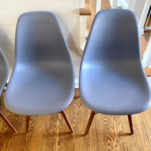 Load image into Gallery viewer, Modern Eames Style Shell Chairs With Eiffel Tower Bases