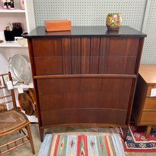 Load image into Gallery viewer, Vintage Mid Century Modern Walnut Dresser Chest