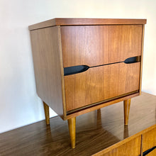Load image into Gallery viewer, Vintage MidCentury Modern Nightstand By Basset