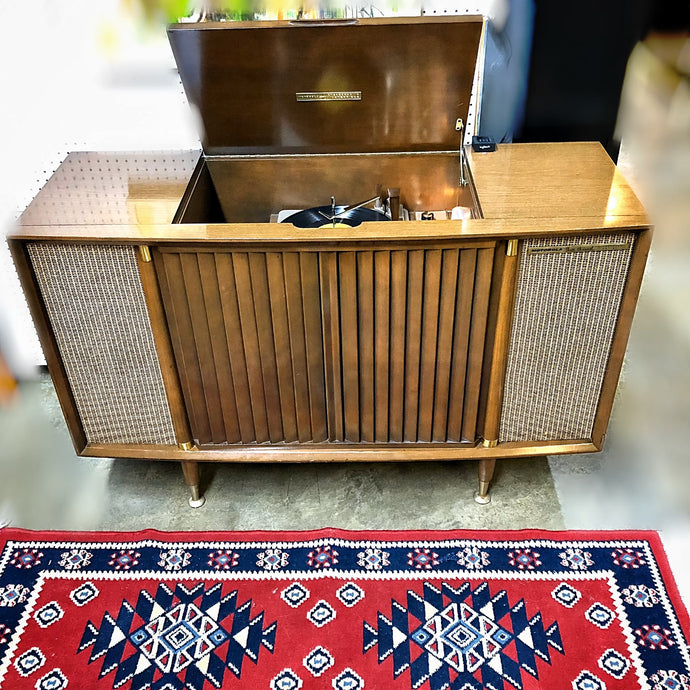 Vintage Tube Amplified Stereo Record Player By Motorola 1959