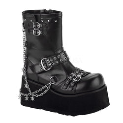 CLASH-430 Platform Punk Boot by Demonia