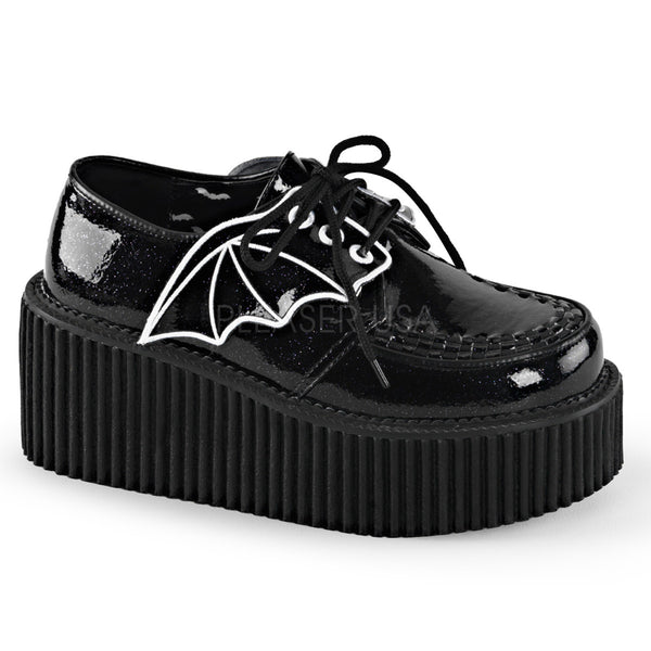 CREEPER-205 Bat Wing Creeper by Demonia Shoes