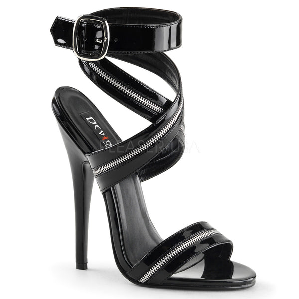 DOMINA-119 Fetish Heels by Devious Shoes