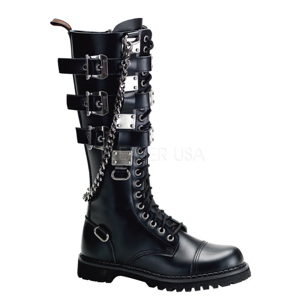 GRAVEL-23  20 Eyelet Clearance Boot by Demonia Shoes