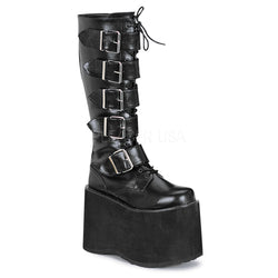 MEGA-618 Platform Buckle Boot by Demonia Shoes