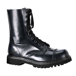 ROCKY-10 Steel Toe Combat Boots by Demonia Shoes