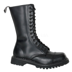 ROCKY-14 Steel Toe Combat Boots by Demonia Shoes