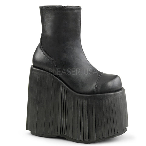 SLAY-205 Platform Rave Boots by Demonia Shoes