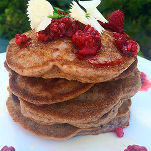 Berry Protein Pancakes - Barre Base