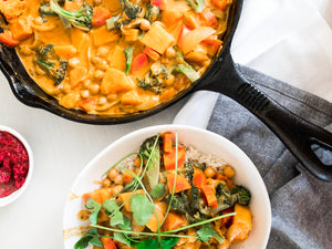 Recipe: Healthy Pumpkin and Chickpea Curry