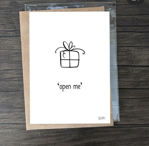 'Open Me' Card