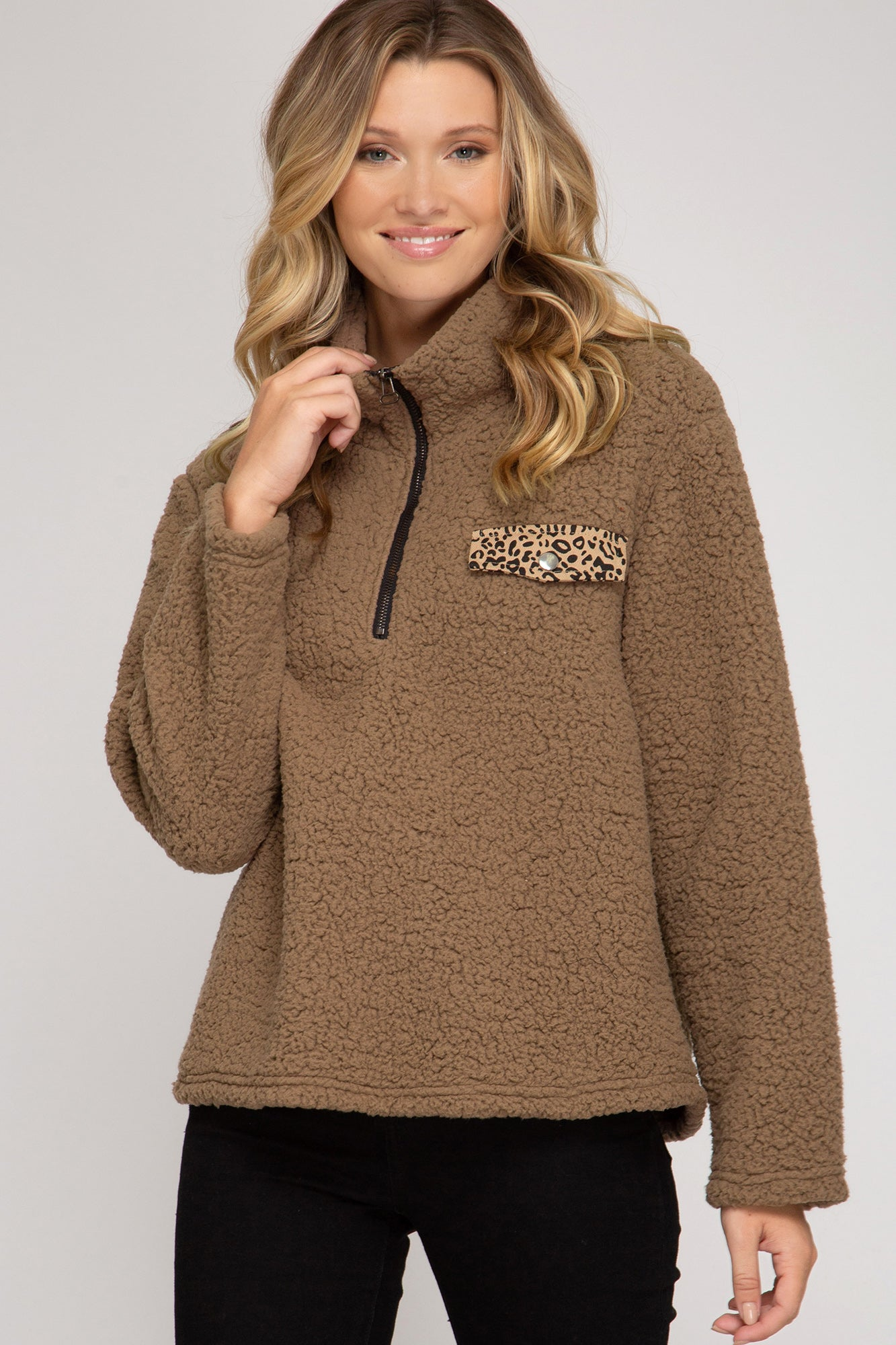 Cozy Teddy Pullover
