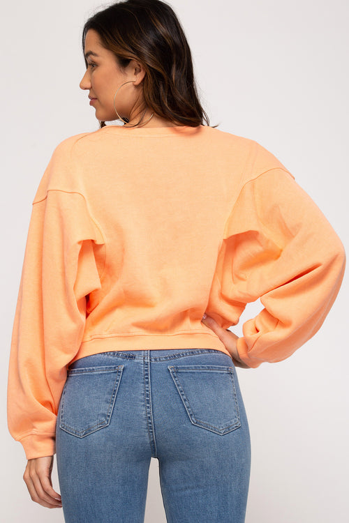Willow Cropped Crewneck