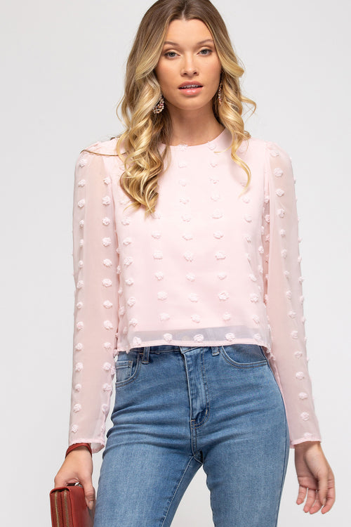 Brittany Polka Dot Top