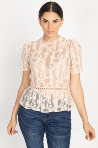 Caitlyn Lace Top