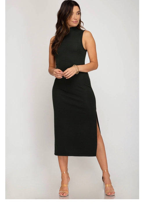 * Sally Knit Midi dress