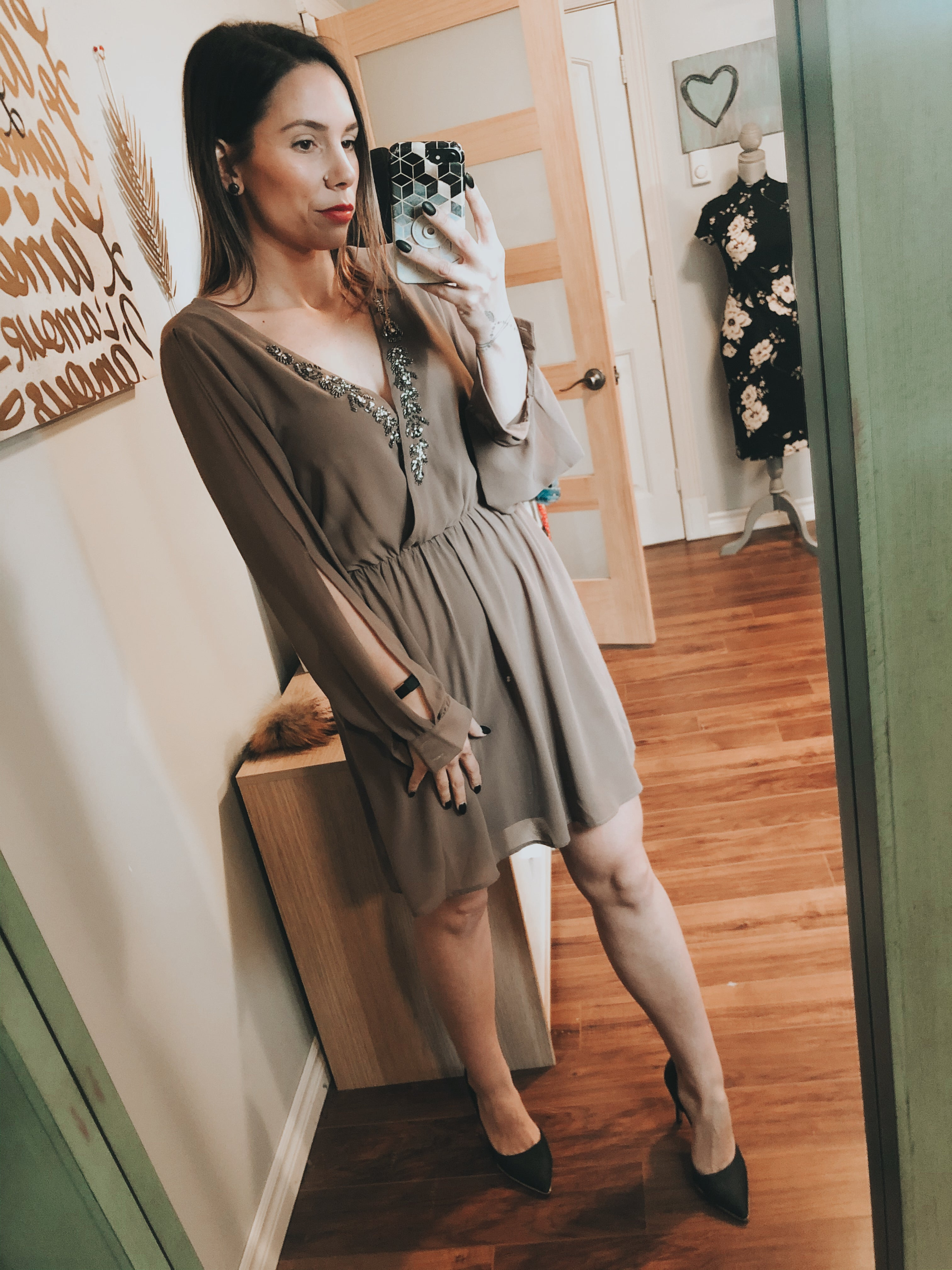 *The closet-Mocha Dress
