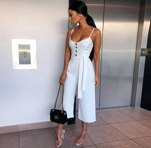 * The Closet- Radiance wide leg jumpsuit