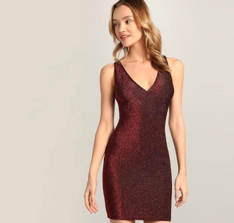 *The Closet Glitter Glam Bodycon Dress