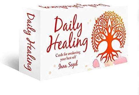 Daily Healing Cards - Mini Affirmation Cards - JOURNEY artisan soaps & candles