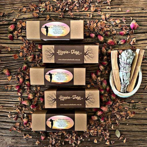 Ghostbusters Spiritual Cleansing - White Sage & Palo Santo Smudge Blend - JOURNEY artisan soaps & candles