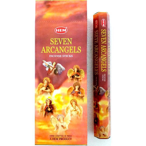 HEM 7 Arcangels Incense Sticks - JOURNEY artisan soaps & candles