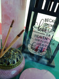 Life Celebration Lantern - Celebrate life & love - JOURNEY artisan soaps & candles