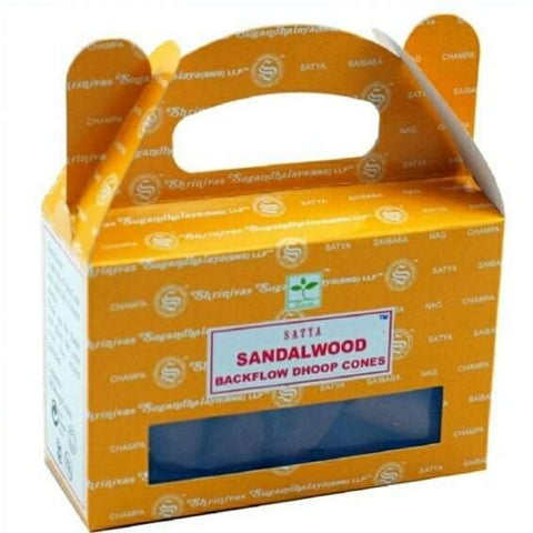Satya Sandalwood, Backflow Incense Cones