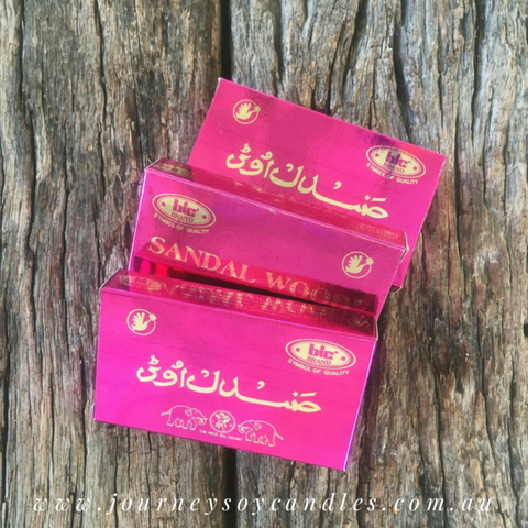 Incense Cones - An Aromatic Journey - JOURNEY artisan soaps & candles