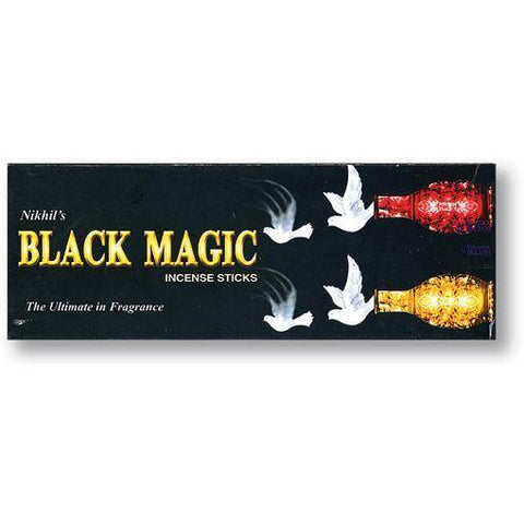 Black Magic Hex Incense Sticks