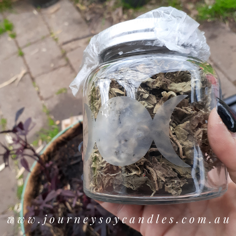 Dried Patchouli Leaves - Burn for love, wealth & luck