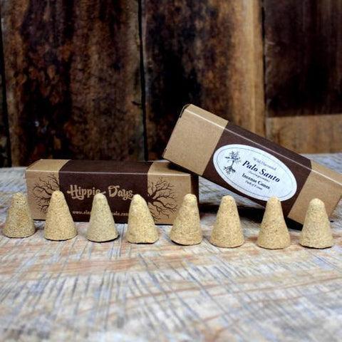 Palo Santo Incense Cones - JOURNEY artisan soaps & candles