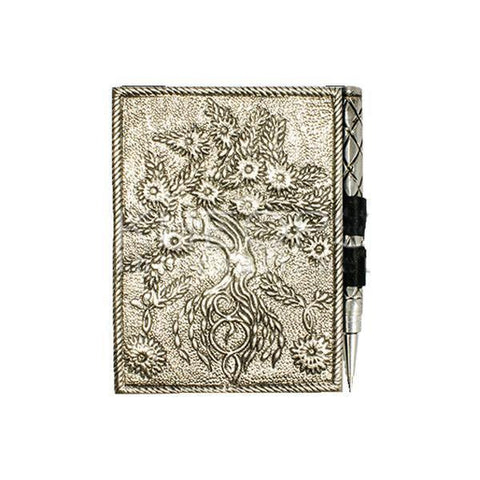 Tree of Life Journal with pen - JOURNEY artisan soaps & candles