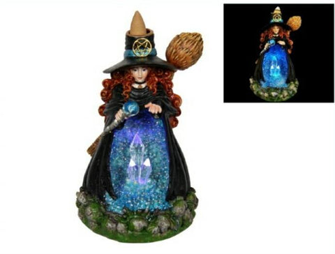 Witch Backflow Incense Burner with FREE Incense
