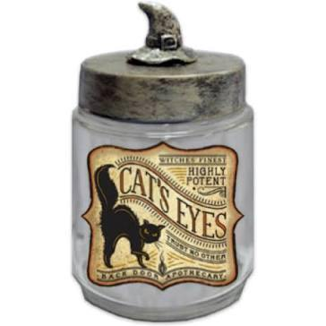 Cats Eyes Apothecary Jar