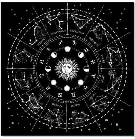Altar Cloth | Astrological *new design added*