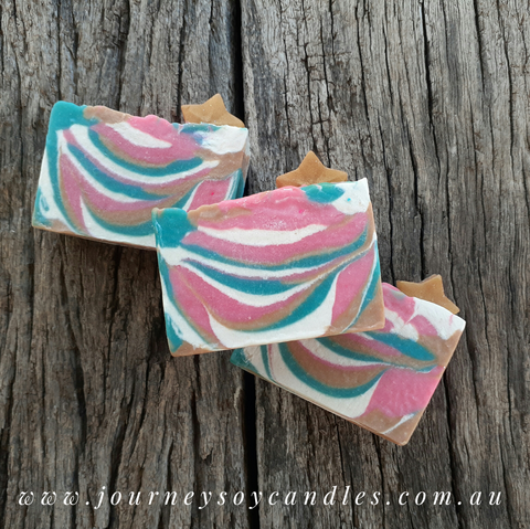 Cotton Candy Soap Bar - JOURNEY artisan soaps & candles