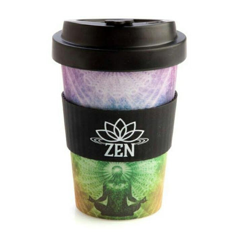 Eco-to-Go Zen Bamboo Travel Cup with Sleeve - JOURNEY artisan soaps & candles