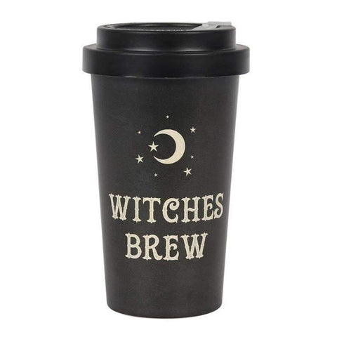 Witches Brew Bamboo Travel Cup with sleeve - JOURNEY artisan soaps & candles