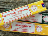 Satya Incense - The most famous incense brand in the world - JOURNEY artisan soaps & candles
