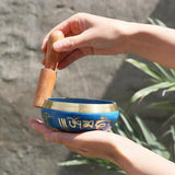 Tibetan Singing Bowl - Use in prayer, yoga or meditation - JOURNEY artisan soaps & candles