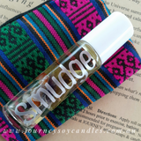 White Sage Smudge Perfume with Moon-kissed crystals and Sacred Sage Leaves