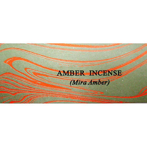 Auroshikha Amber Incense - JOURNEY artisan soaps & candles