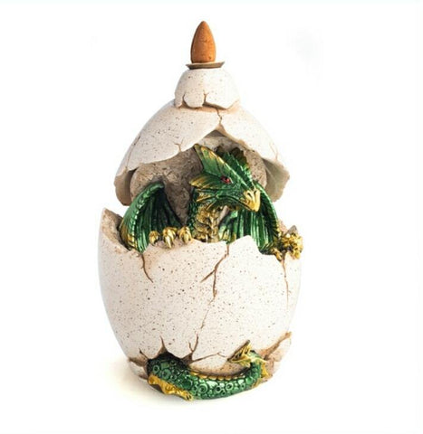 Hatchling Dragon Backflow Incense Burner with FREE Incense