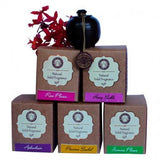 Song of India Solid Perfume in Rosewood Jar - JOURNEY artisan soaps & candles