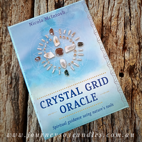 "The Crystal Grid Oracle, ""Spiritual guidance using nature's tools"" - JOURNEY artisan soaps & candles"